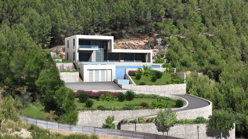 PMA STUDIO Son Vida 1 Architect Mallorca House Project